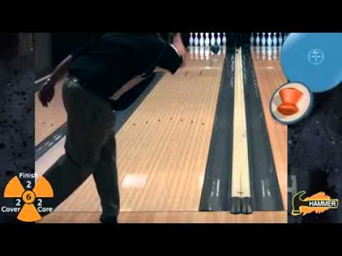 Blue Hammer Bowling Ball Video