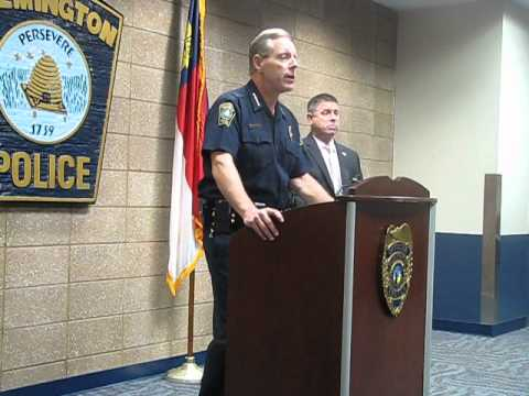 RAW VIDEO: Wilmington NC police chief announces arrest in 08-19 murder