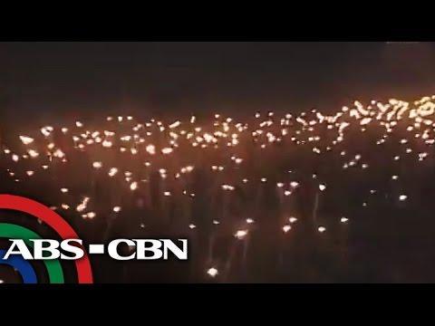 Torches Light Up Pavvurulun-afi Festival video