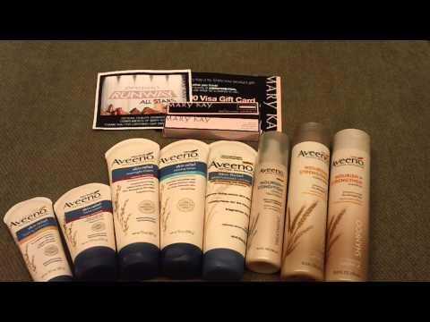 GRATIS  Aveeno Nourish y Aveeno Skin Relief Sorteo en www SuperbaratisimoGratis com
