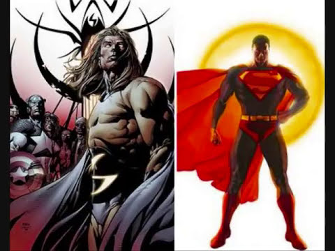 SIMILITUDES DE SUPERHEROES ENTRE MARVEL Y DC COMIC