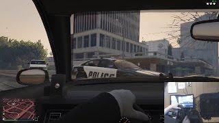 GTA 5 with Steering Wheel - Logitech G27 & CronusMAX PLUS
