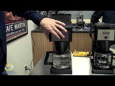 Bunn Coffee Maker Fix : How To FIX A Bunn Coffee Maker That Starts Brewing BEFORE You Pour The Water In! How To Make ...