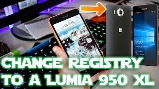 Unsupported devices - InteropTools change registry to a LUMIA 950 XL