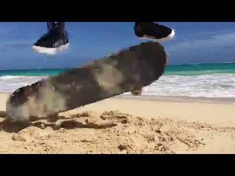 Sand in @huntahlong's bearings | Shralpin Skateboarding