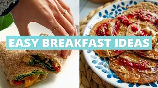 What I Ate for Breakfast This Week ☕️????????????☀️ VEGAN + EASY