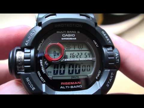 Casio GW-9200 vs Suunto Core Video