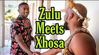Zulu guy meets Xhosa guy