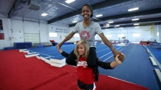 Qualified Episode 4: Shawn Johnson Helps Mentor Gabrielle Douglas On Her Way to London Olympics