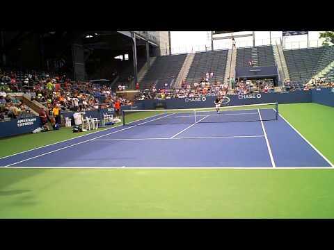 2014 US Open Grigor Dimitrov Nick Kyrgios VID01018