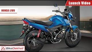 2015 Honda Livo Launch in India video   BikeDekho.com