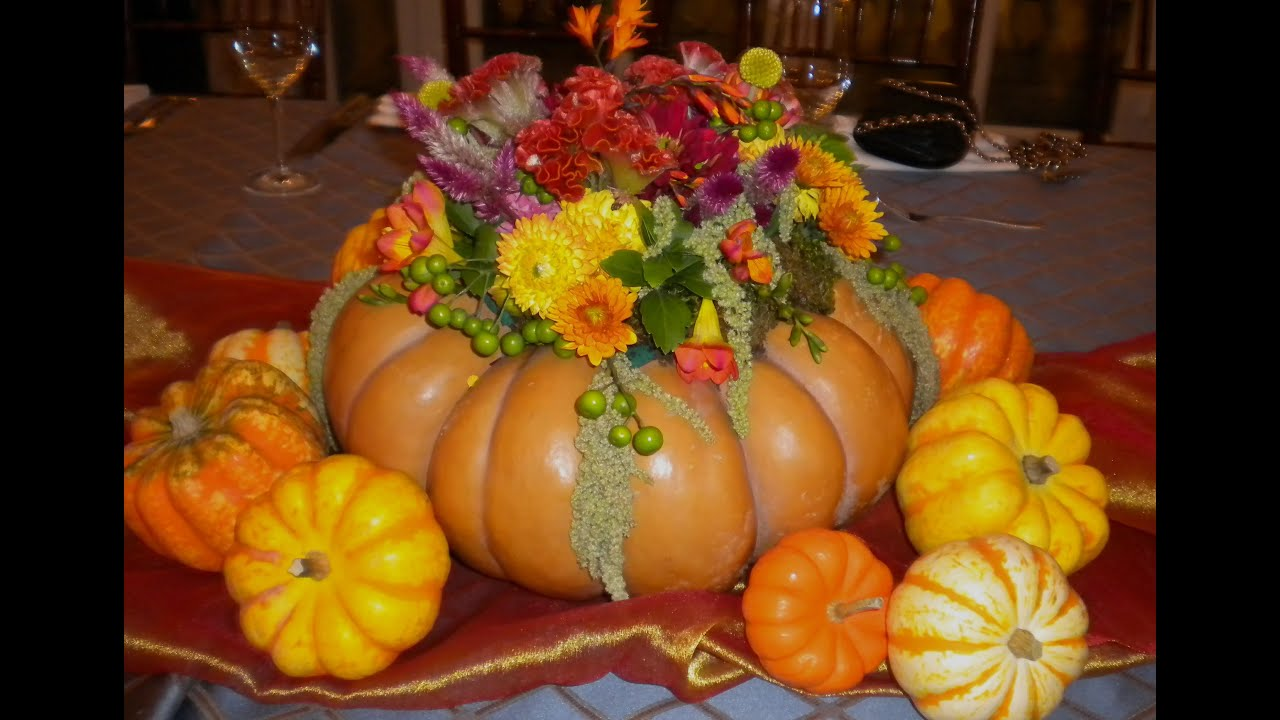 The perfect thanksgiving centerpiece in a fairy tale for Fairytale pumpkin carving ideas