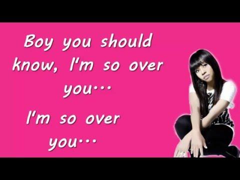 Auburn - So Over You *Lyrics Video*