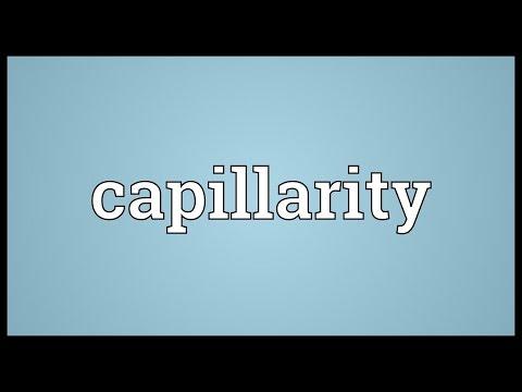 Header of capillarity