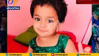 School Bus Crushes 20 month Old Baby | Gopigadda | Ranga Reddy Dist