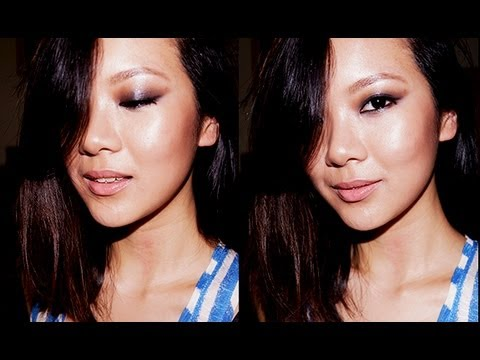 Makeup Tutorial: Easy Chic Dark Black Smoky Eye Makeup for Asians (Laura Mercier
