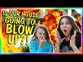 IS OUR HOUSE GOING TO BLOW UP?!?! | We Are The Davises
