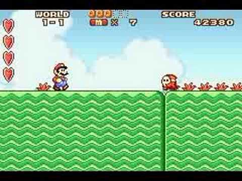 Super Mario Advance 1-1
