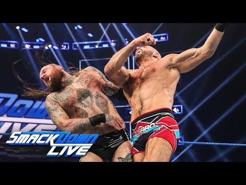 Aleister Black vs. Cesaro: SmackDown LIVE, July 16, 2019