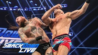 Aleister Black vs. Cesaro: SmackDown LIVE, July 16, 2019