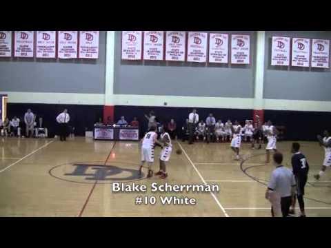 Blake Scherrman  #10, Davidson Day School, Class of 2015