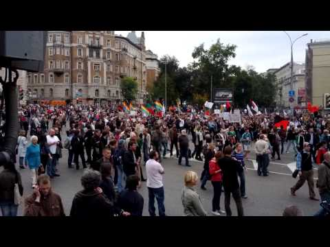 Moscow anti Putin rally(4)