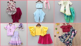 Stylish And Latest Eid Wear Baby Dresses || Outclass Designing Dress