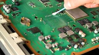 PS3 RSX GPU reballing from begin to end