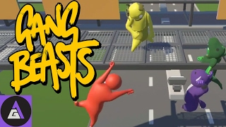 Gang Beasts: WTF DID YOU DO TO OUR GAME?? | Four Play