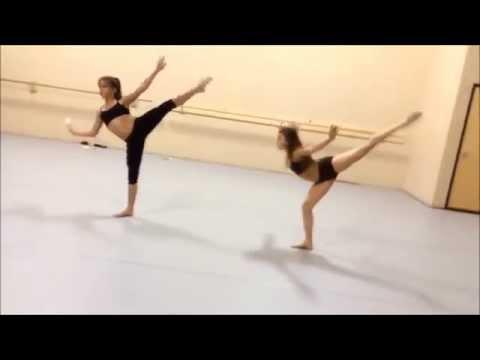 Детская современная хореография, дети танцуют.