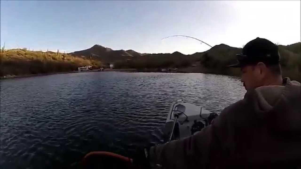 Kayak bass fishing apache lake youtube for Apache lake fishing