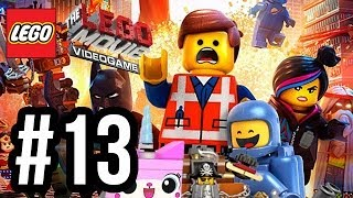 The LEGO Movie Videogame Walkthrough PART 13 - ROBOT DANCE!! (PS4 XBOX ONE WiiU PC Gameplay 1080p)