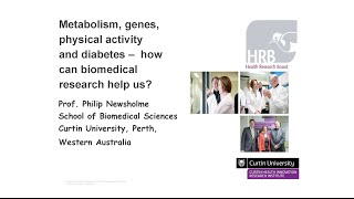 How can biomedical research help us by Professor Philip Newsholme
