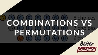 Easy Combinations and Permutations | BetterExplained