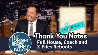 Video Thank You Notes: Full House,