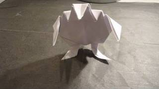 How To Make Fighting Frog Origami With Attitude カエル折り紙 La Lucha Sapo 蟾蜍 Ropucha Toad