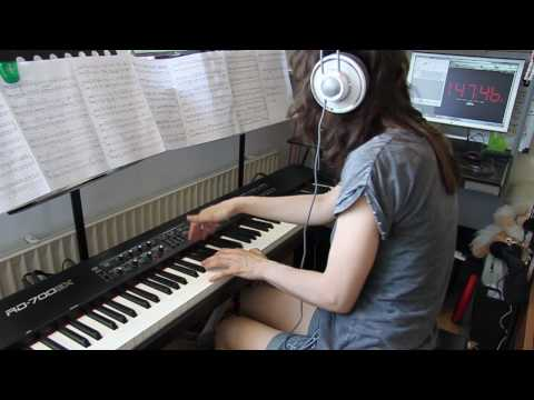 Metallica - Master Of Puppets - piano cover, version 2 [HD]