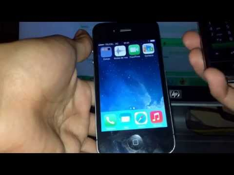 Instalación rsim 9 pro en iPhone 4S ios 7.1 Movistar con reporte a Telcel