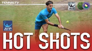 Hot Shot: The Federer Shot You've Never Seen Before