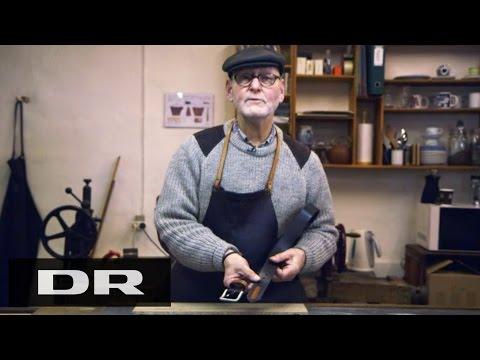 Sådan laver du et bælte med Claus | Made in Denmark | DR1