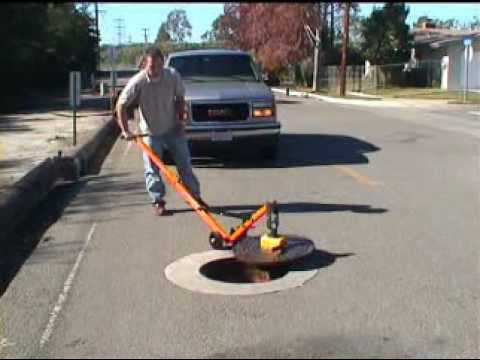 0 US Saws Magnetic Manhole Lifting System