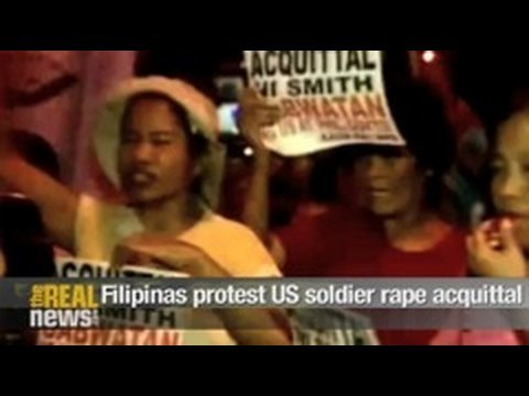 Filipinas protest US soldier rape acquittal Video
