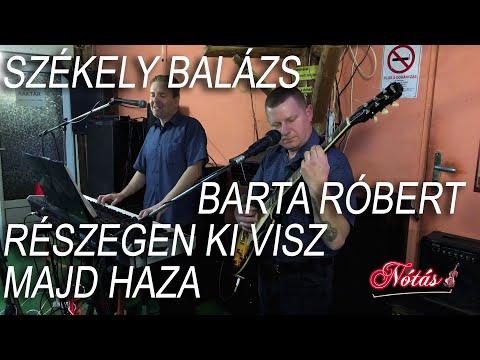 Székely Balázs, Barta Róbert - Részegen ki visz majd haza