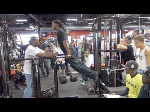 Weighted Dips Competition - Blaq Ninja's Last Man Standing