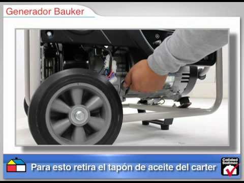 Puesta en marcha de generadores Bauker.