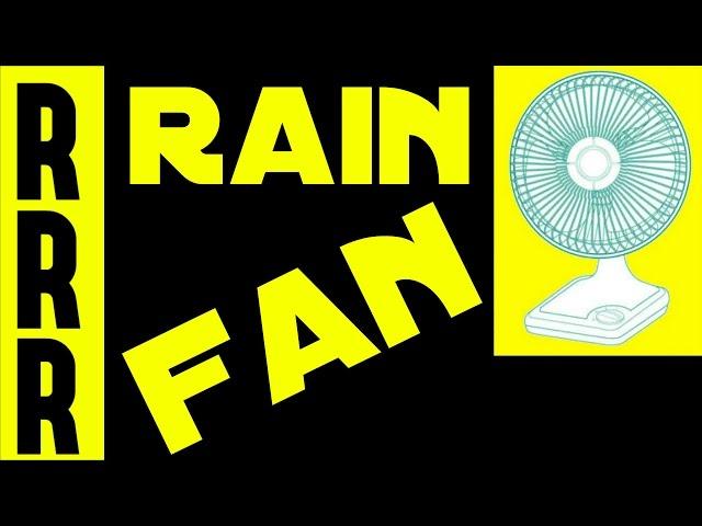 Fan noise + Rain sounds = 8 Hours of Relaxing Sleep
