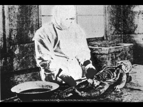 Unit 731  Japanese Torture & Human Medical Experiments 部隊の真実