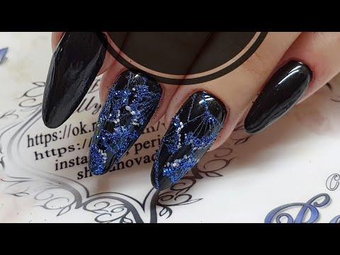 Очень простой и быстрый дизайн ногтей для начинающих мастеров  Укроп