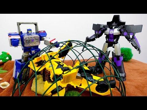 Видео для детей: Бамблби ищет клад! Игры #трансформеры. Фабрика Героев.