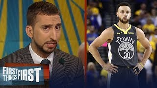Kawhi earns title of 'best player in the world', talks Steph's legacy | NBA | FIRST THINGS FIRST